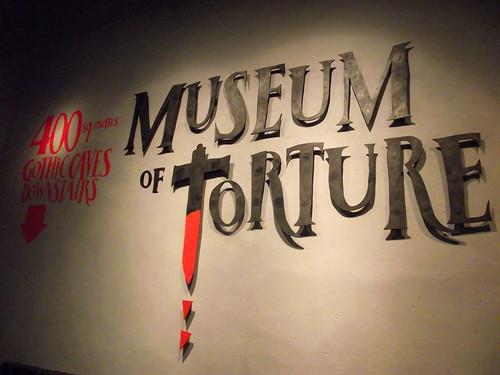 Múzeum tortúry - Museum of Torture