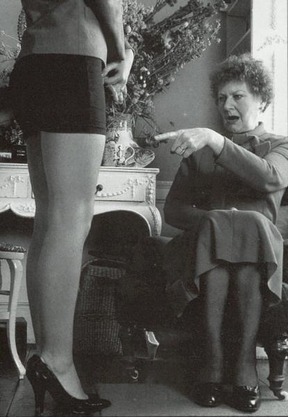 Wife in short skirt