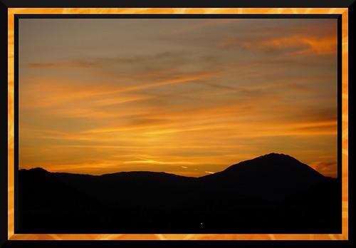 sunset montenegro podgorica