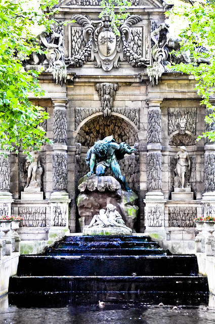 Medici fountain la fontaine m dicis at jardin du luxembourg paris france flickr photo sharing - Fontaine jardin du luxembourg ...