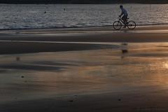 le vélo dans la mer