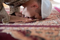 Muslim chaplain ministers at Camp Leatherneck during Ramadan [Image 1 of 7]