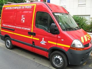 Véhicule d'intervention grande intempérie (Paris)