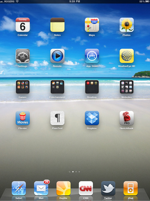 My ipad home screen for Best home screen wallpaper for ipad