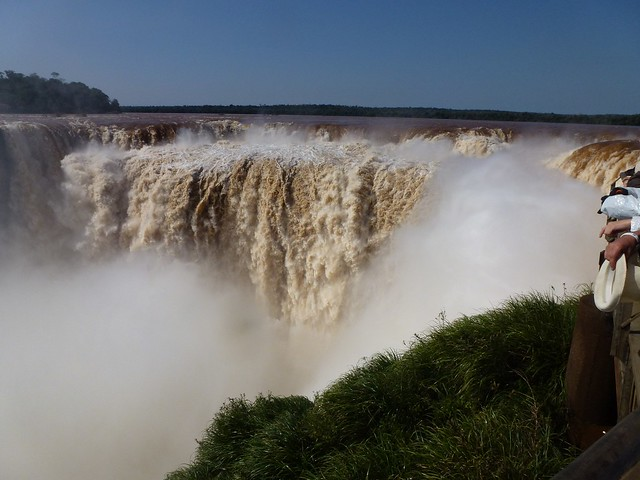 Iguazu Falls in the north of Argentina