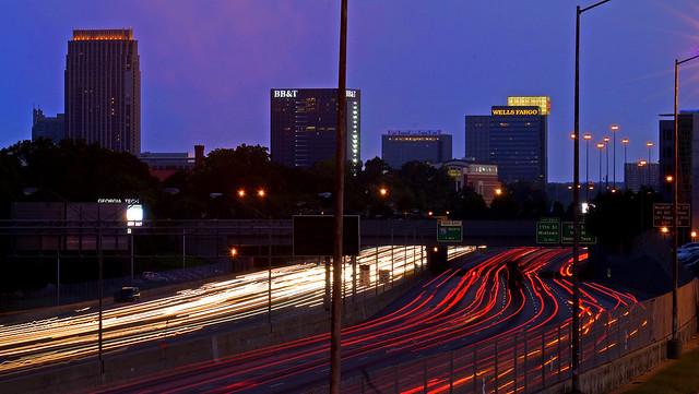 Atlanta: Midtown morning rush (EXPLORED)