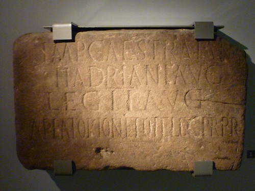 Inscription from Milecastle 38 in the Great North Museum