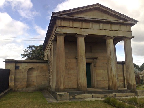 The Doric Lodge Wentworth Wentworth Woodhouse Rotherham Yorkshire