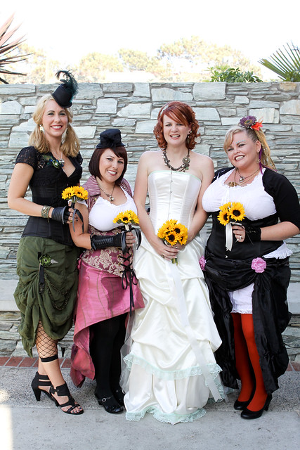 Rob & Stacy's Steampunk wedding