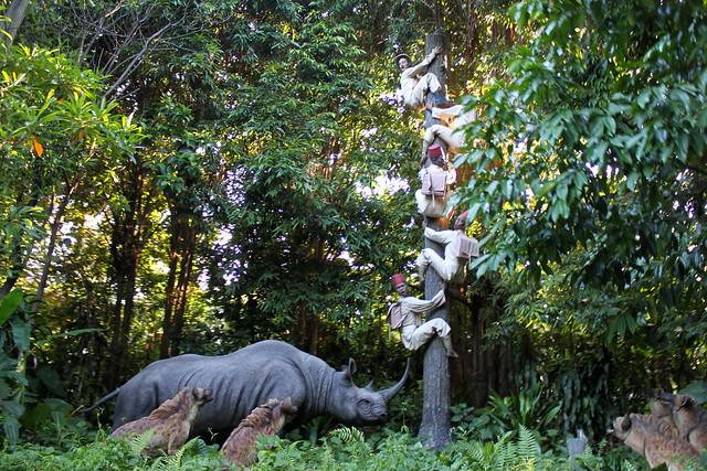 Hong Kong Disneyland - Jungle River Cruise at Adventureland
