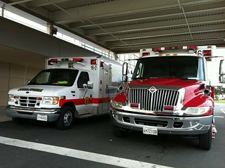 Salisbury FD ambulances