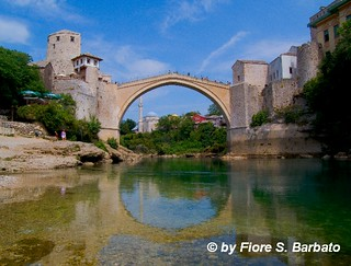 """Mostar [BiH], 2011, Il """"Ponte"""" di Mostar."""