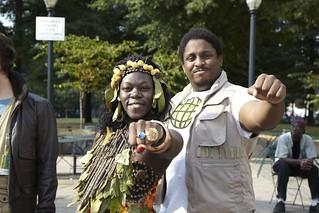 Earth and Kwame