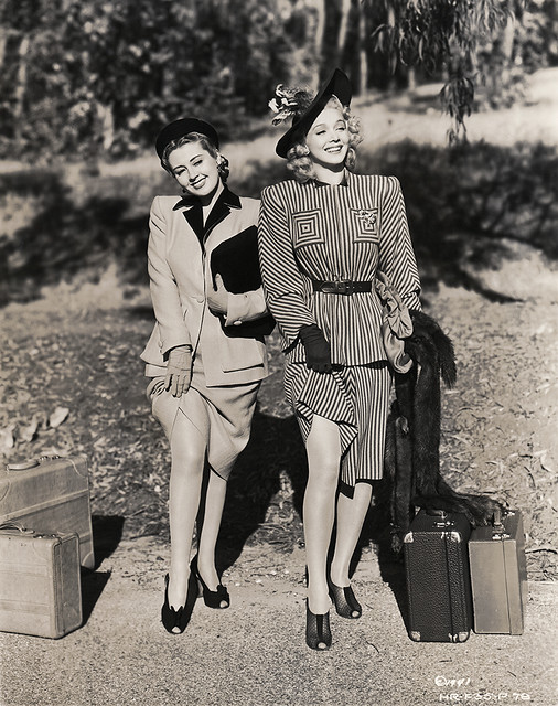 Joan Blondell, Carole Landis 1941
