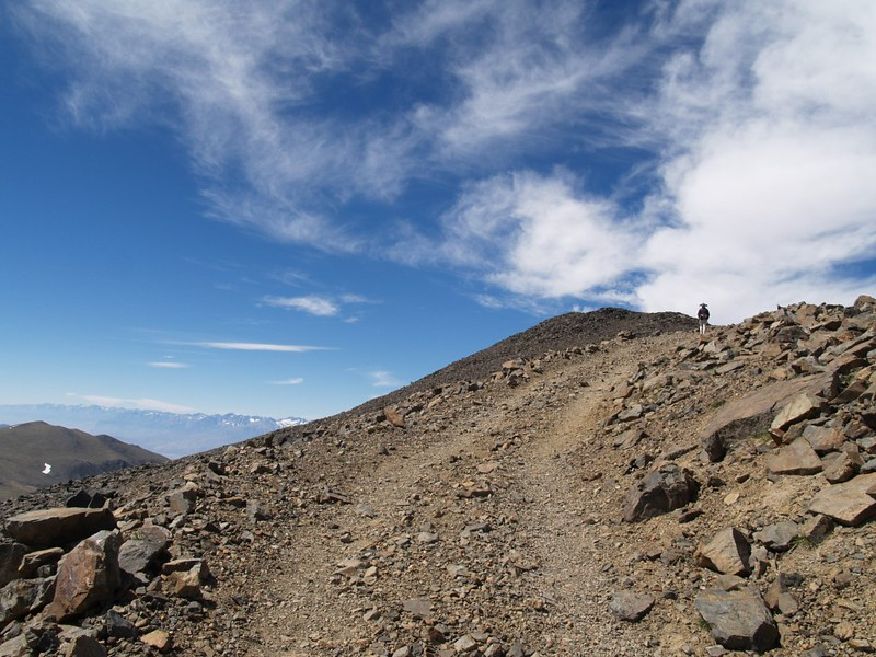 The road seems never-ending as it climbs and switchbacks its way up to the summit