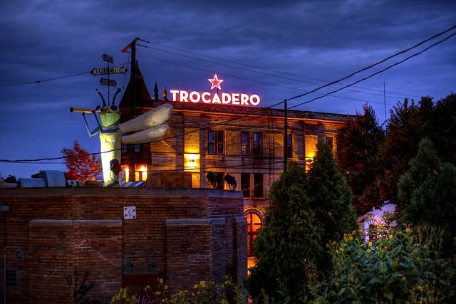 Trocadero at Twilight
