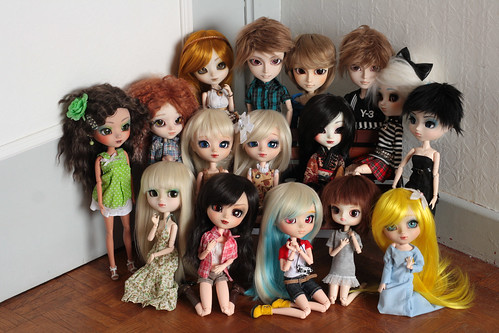 My dolly family