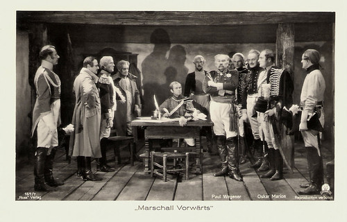 Paul Wegener and Oscar Marion in Marschall Vorwärts (1932)