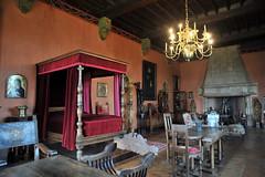 Décor intérieur du Château de Castelnau-Bretenoux - Lot