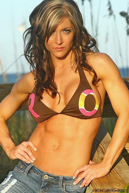 Female Fitness Model Body