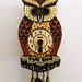 Vintage German Owl Clock