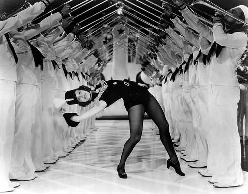 Eleanor Powell, 1936 Born to dance