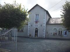 Hôtel de ville de Villegouin, Indre.