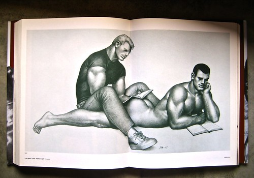 Tom of Finland, The art of pleasure (a cura di Micha Remakers), design di Catinka Keul; Taschen 1998; pp. 252-253 (part.)