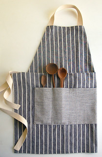 Molly's Sketchbook: Adjustable Unisex Apron