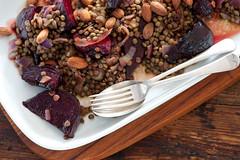 lentil & beet salad-8