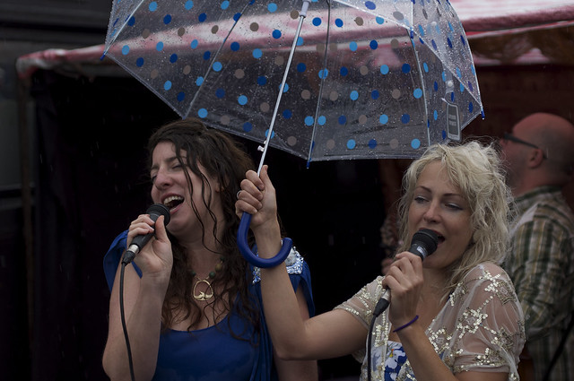 you can sing under my umbrella