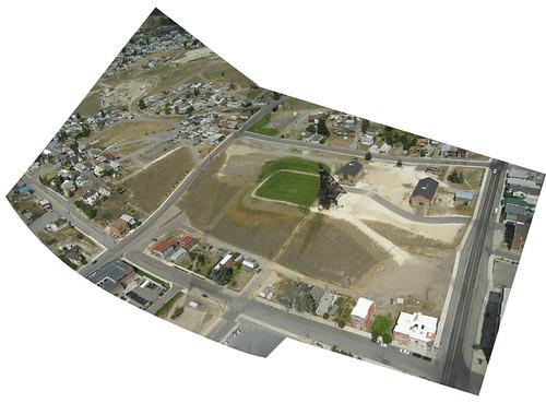 The Original Mine Yard, Butte, Montana