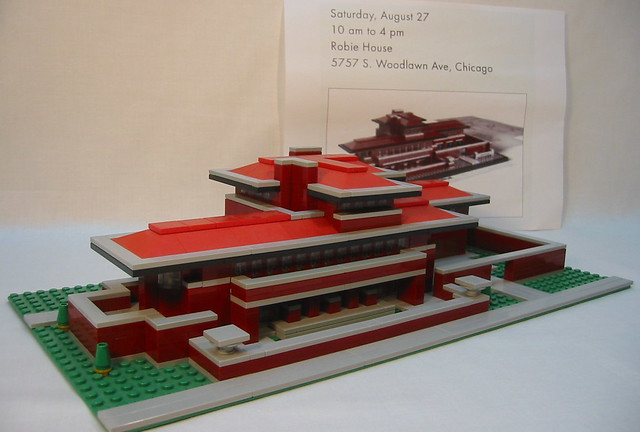 Robie House Lego