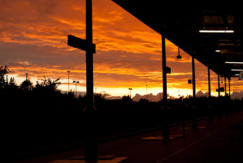 sunset trainstation