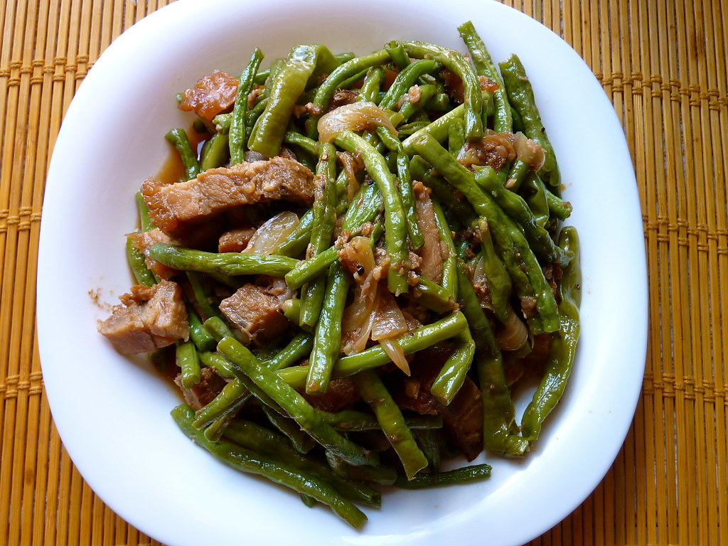 Stringbeans Strir-fry
