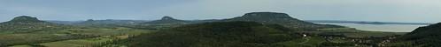 hungary view hill sightseeing hills balaton szigliget badacsony