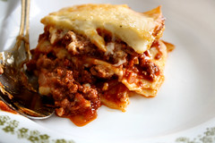 meal, breakfast, meat, food, dish, cuisine, lasagne,