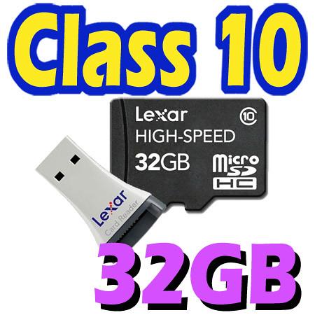 lexar 32gb 32g class 10 micro sd micro sdhc karte tf. Black Bedroom Furniture Sets. Home Design Ideas
