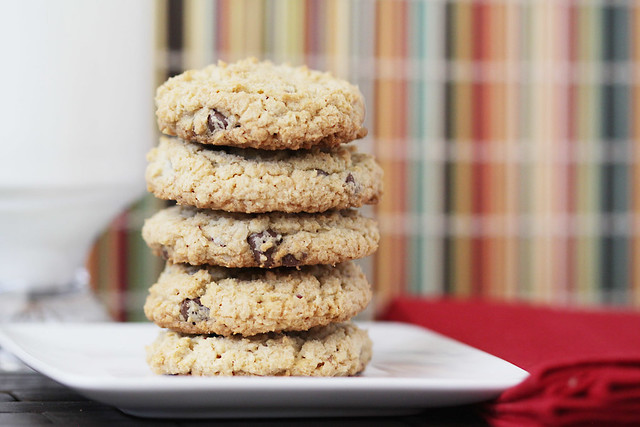 Love From The Oven oatmeal chocolate chip cookie recipe
