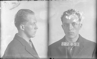 Bergman, Charles G. (AKA- Gross). Inmate #22639 (MSA)