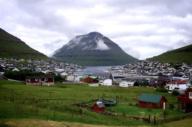 Klaksvík on the Faroe Islands