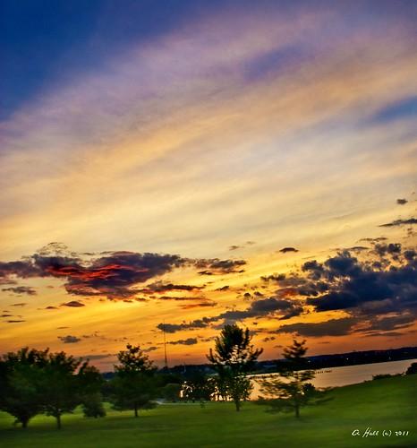 sunset park southbaltimore middlebranch pse60 artondra artondrahallphotography sunsets eastcoastsunsets skywatcher sunsetsky sunsetshots sunsetsmadness sunsetseeker sunsetspotter sunsetscapes artondrahall