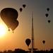 Balloon sunset by Thiago Marra