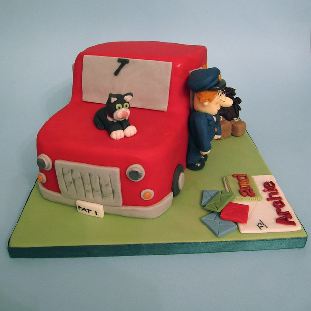 Pin Postman Pat Birthday Cake Tesco Characters Pictures ...