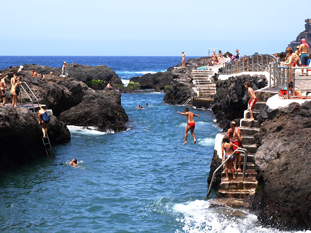 Rock Pools at Garachico