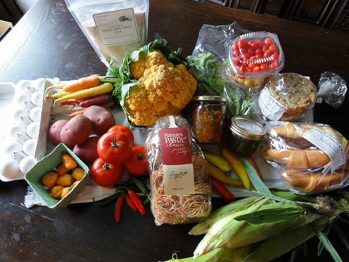 Farmers' Market Haul, Sept 3 2011