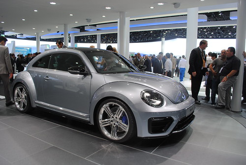 Volkswagen Beetle R at the Frankfurt Motor Show IAA 2011