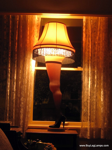 The Leg Lamp At A Christmas Story House Quot The Soft Glow
