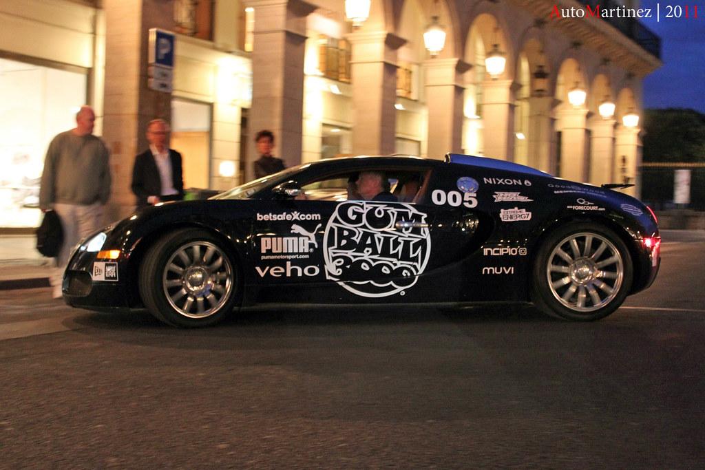 Bugatti Veyron 16.4 – Gumball 3000 Paris (05-2011)
