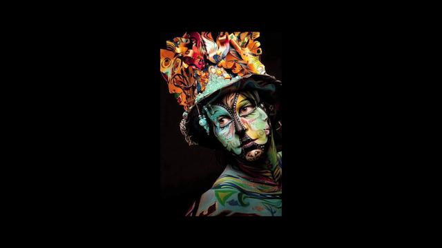 Body Paint Girl: The Girl Who Gets Painted (2011) on Vimeo by Diggable ...